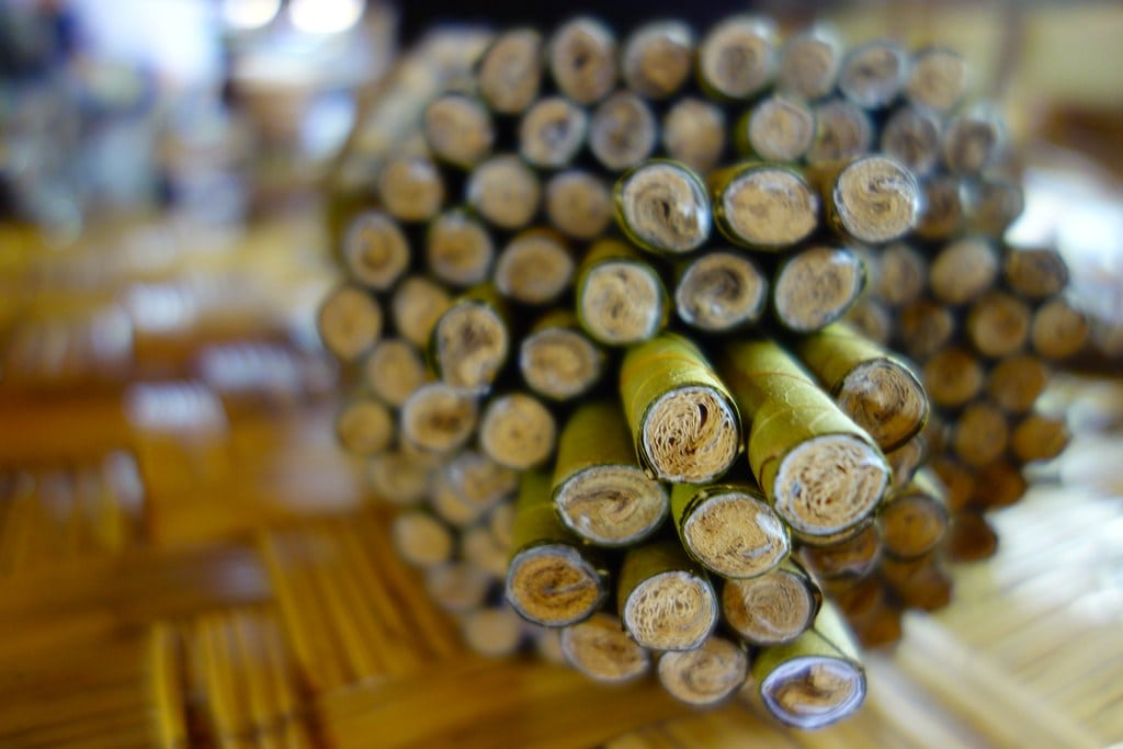 Cigar factory Inle Lake