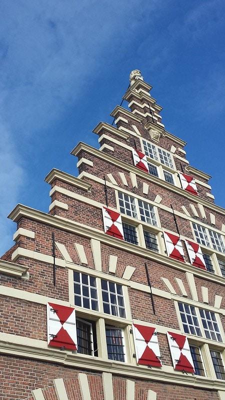 Characteristic Dutch house