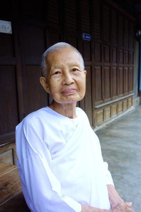 Old Thai woman