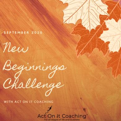 New Beginnings Challenge