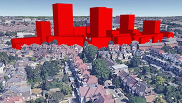 Friary Park Redevelopment CGI