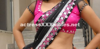 Neelam Shetty Hot See Through Cleavage n navel saree Pics