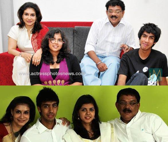 kalyani priyadarshan family