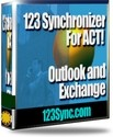 123 Synchronizer for ACT!, Outlook and Exchange