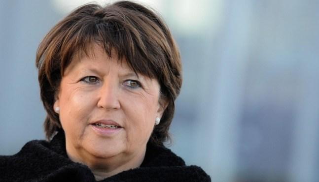 Martine Aubry va faire des propositions pour faire revenir la croissance