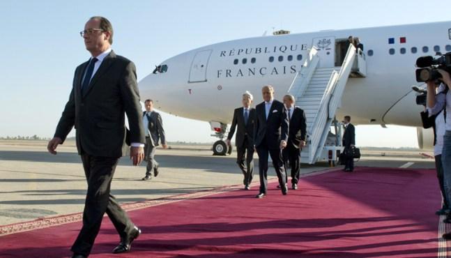 François Hollande en Polynésie française