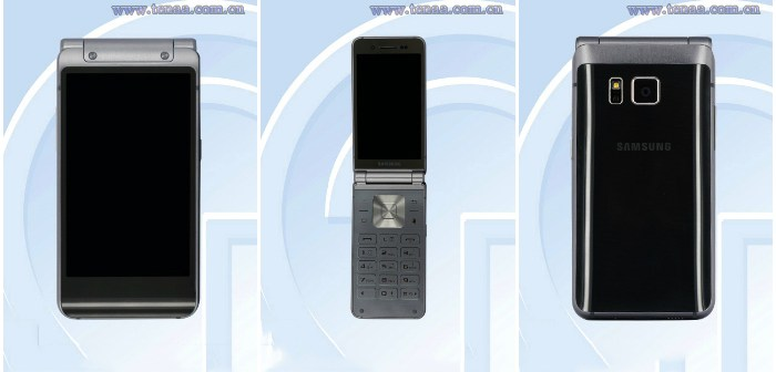 Un smartphone plegable de Samsung se filtra en la red