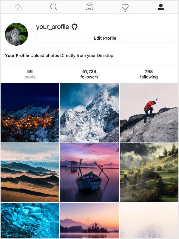 instagram desde el ordenador