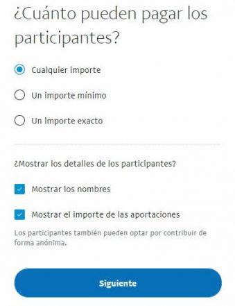 Cómo crear un fondo común en PayPal para recaudar dinero 3