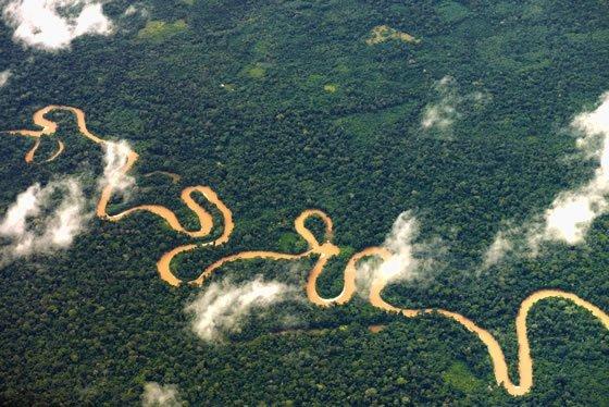 Resultado de imagen para meandros amazonas