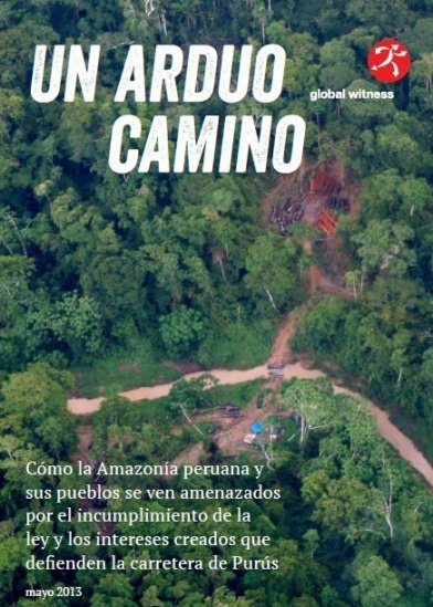Informe sobre la carretera de Purús - Tahuamanu
