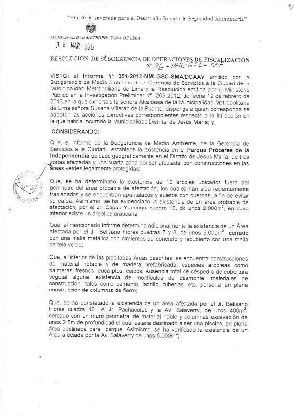 Resolucion Lima 1