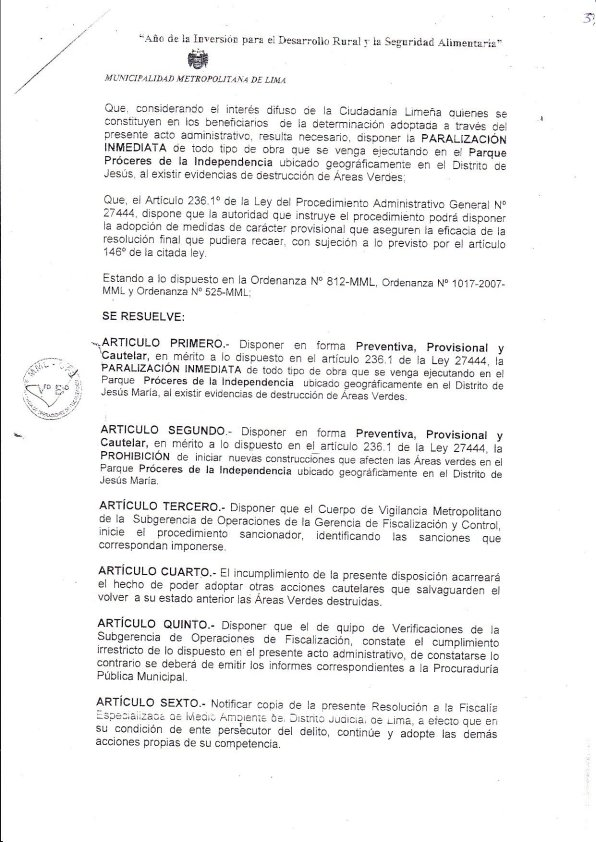 Resolucion Lima 3