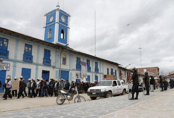 Marcha en Celendín / Foto: Jorge Chávez