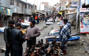 Minería ilegal en La Rinconada (Puno)