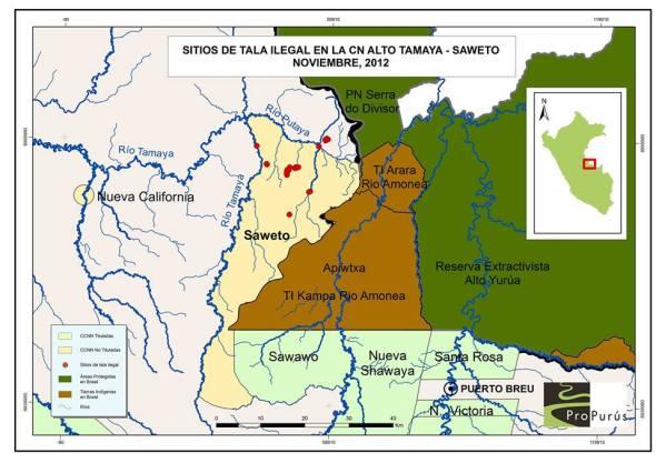 mapa saweto