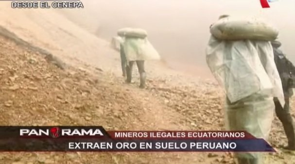 mineros ecuatorianos
