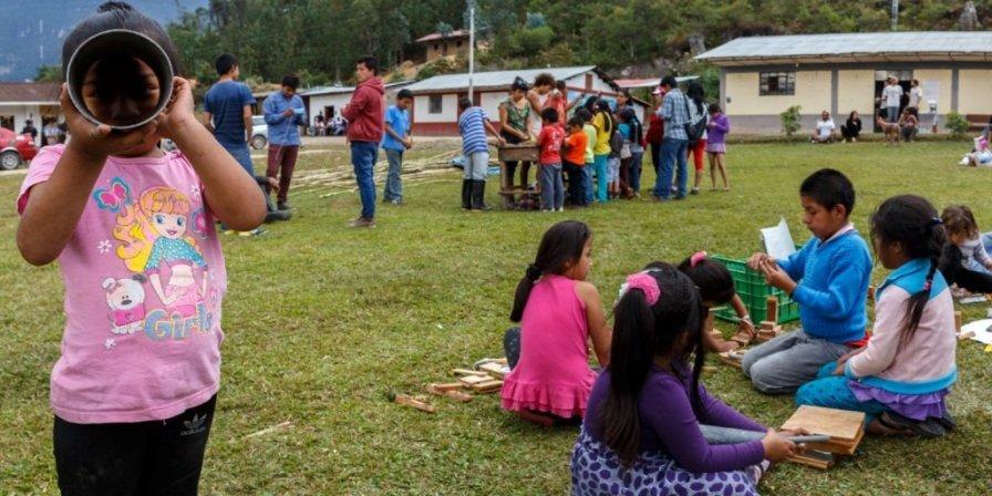 En Cocachimba viven unas 40 familias y la colaboración y ayuda mutua son parte de sus pilares de vida.