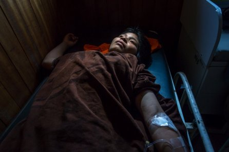 La deshidratación o la diarrea son enfermedades recurrentes en todas las poblaciones indígenas.