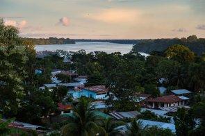 La Amazonía fue la primera visita del Papa Francisco en el Perú. Durante sus discursos en Puerto Maldonado, hizo un reclamo firme contra la destrucción de los bosques y el medio ambiente.