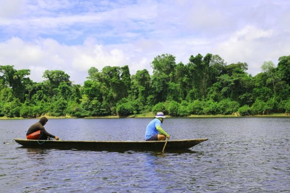 Dentro del interior de la reserva se puede navegar por los ríos Pacaya, Samiria y Yanayacu-Pucate, a donde se llega a través de los ríos Ucayali o Marañón. Foto: Jaime Tranca / SPDA