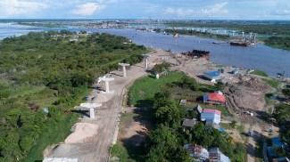 5.- El proyecto viene siendo ejecutado por el Consorcio Puentes de Loreto (conformado por Mota-Engil Perú S.A., Cosapi S.A., Incot S.A.C., y Contratistas Generales y Mota Engil Engenharia e Construcao S.A. Sucursal Perú).