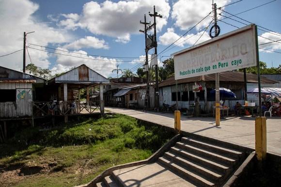 8.- Ubicado a solo 15 minutos del puerto Bellavista Nanay se encuentra Barrio Florido, donde viven los miembros de la comunidad nativa Centro Arenal, de la familia etnolingüística Huitoto Muruy.