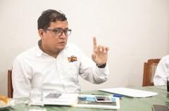 Javier Rocha, de la Dirección Regional de Transportes y Comunicaciones del Gobierno Regional de Loreto.