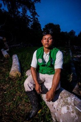 En la ACR Ampiyacu Apayacu se ha establecido una red de vigilancia con el propósito de proteger el recurso que aprovechan los grupos de Manejo Forestal Comunitario de las comunidades Boras de Brillo Nuevo, Nuevo Porvenir y Yanayacu. Foto: Spectabilis/SPDA
