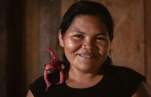 Con la artesanía pueden generar movimiento económico y mantienen costumbres y saberes ancestrales. Foto: Spectabilis/SPDA