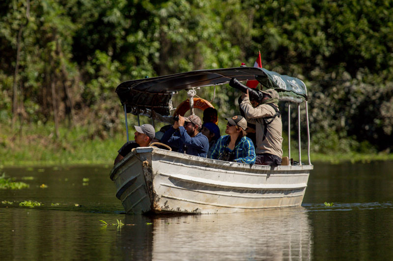 Turismo en la Reserva Nacional Pacaya Samiria. Foto: Kevyn Arce