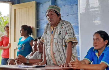Comunidad nativa Tipishca. Foto: Actualidad Ambiental