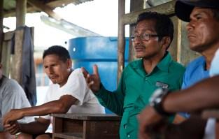 Romero Ríos, vicepresidente del Comité de Gestión del Área de Conservación Regional Maijuna Kichwa.
