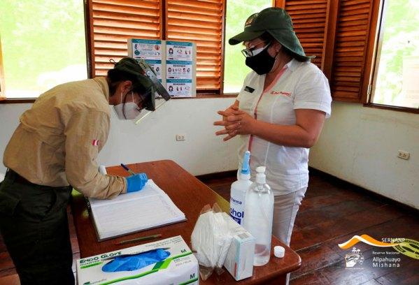 La RNAM ya ha implementado el protocolo de bioseguridad para poder recibir turistas, según indica Herman Ruiz, jefe de la mencionada reserva. Foto: Sernanp
