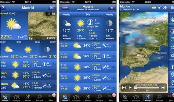 weatherpro WeatherPro para iPhone alcanza la versión 3.0 con muchas novedades