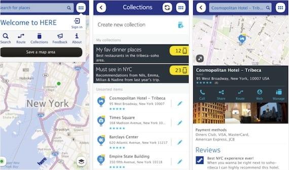 nokia here Nokia HERE, los mapas de Nokia que ya pueden descargarse en la App Store