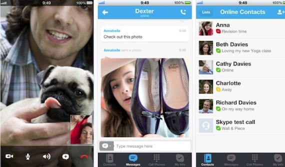 skype iphone5 Skype ya es compatible con la pantalla del iPhone 5