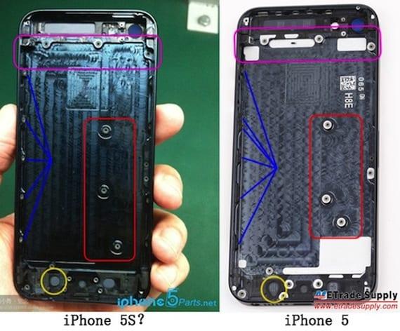 ¿Es esta la primera imagen de la carcasa del iPhone 5S?