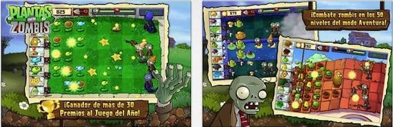 plantas zombies Plantas contra Zombis, la aplicación de la semana que se puede descargar gratis
