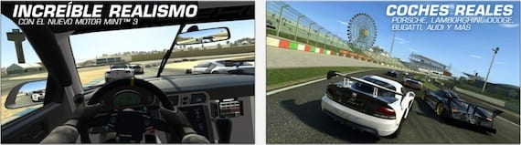 real racing 3 Ya está disponible la primera actualización de Real Racing 3