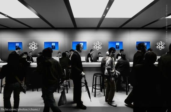 apple store2 Apple tendrá que pagar 53 millones de dólares por no aplicar adecuadamente la garantía en el iPhone