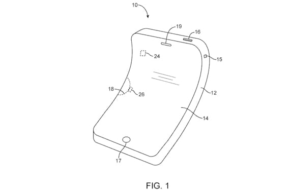 iphone flexible Apple patenta un dispositivo totalmente flexible