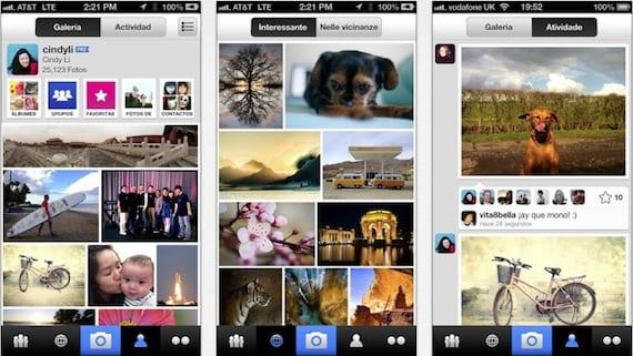 flickr iOS 7 podría añadir integración con Flickr y Vimeo