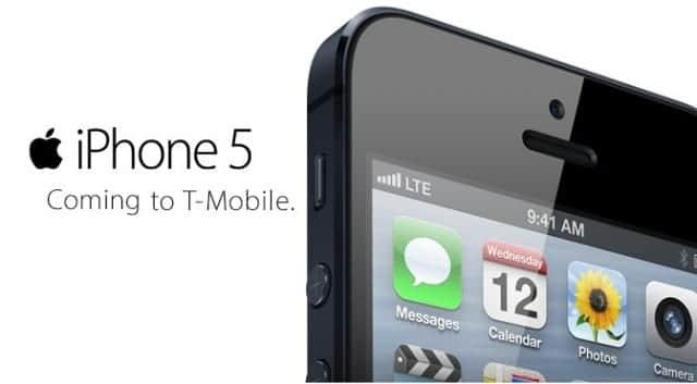 iphone 5 tmobile T Mobile vende 500.000 iPhones 5 en un mes
