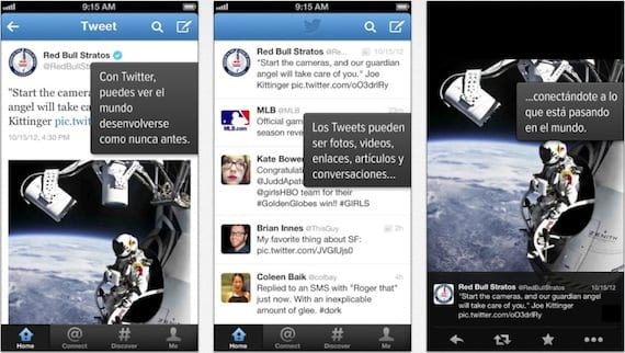 twitter iphone Twitter para iPhone se actualiza con un nuevo diseño