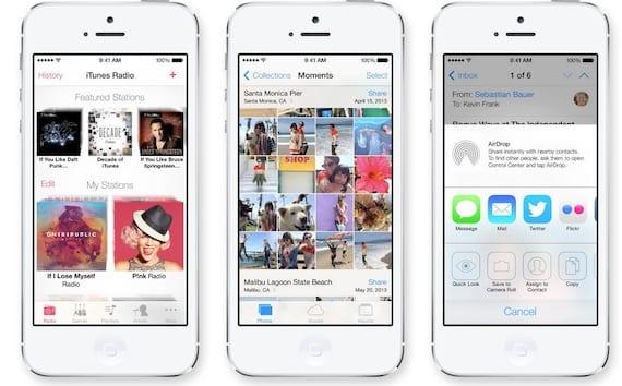 ios7 11 Aplicaciones que se verán afectadas por el lanzamiento de iOS 7