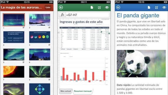 office mobile Microsoft Office Mobile llega al iPhone pero con matices