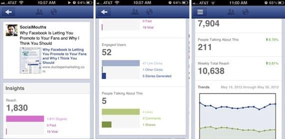 facebook page manager insights La aplicación Administrador de Páginas de Facebook se actualiza con nuevas funcionalidades