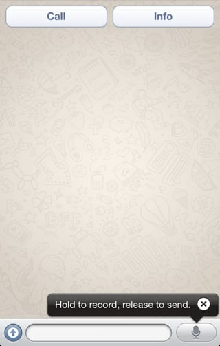whatsapp 1 Novedades en WhatsApp, nueva función de notas de voz y 300M de usuarios