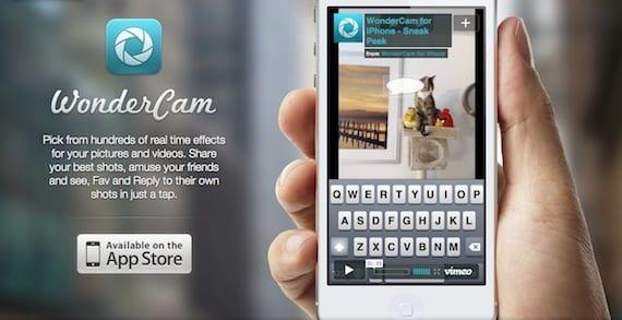 wondercam 2 WonderCam, otra app con la que aplicar filtros en tiempo real a nuestras fotos y vídeos
